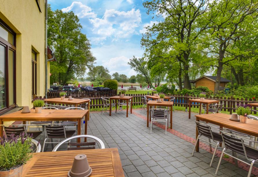 Seehotel Brandenburg an der Havel, Terrasse
