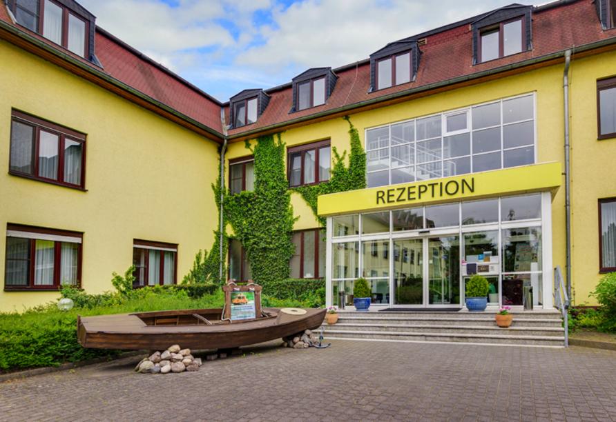 Seehotel Brandenburg an der Havel, Außenansicht