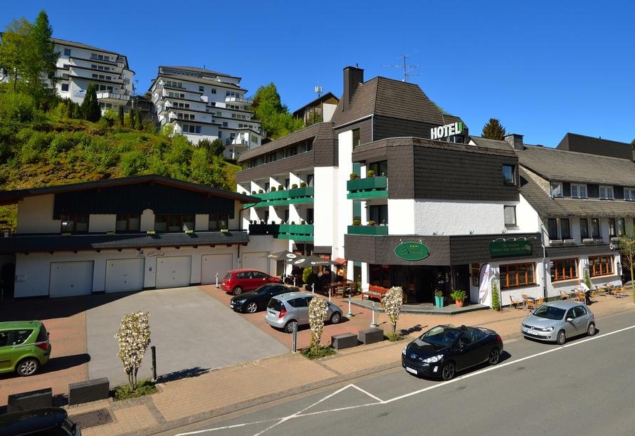 Hotel Central Willingen, Außen