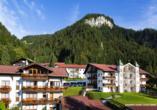 Außenansicht des Alpenhotel Oberstdorf