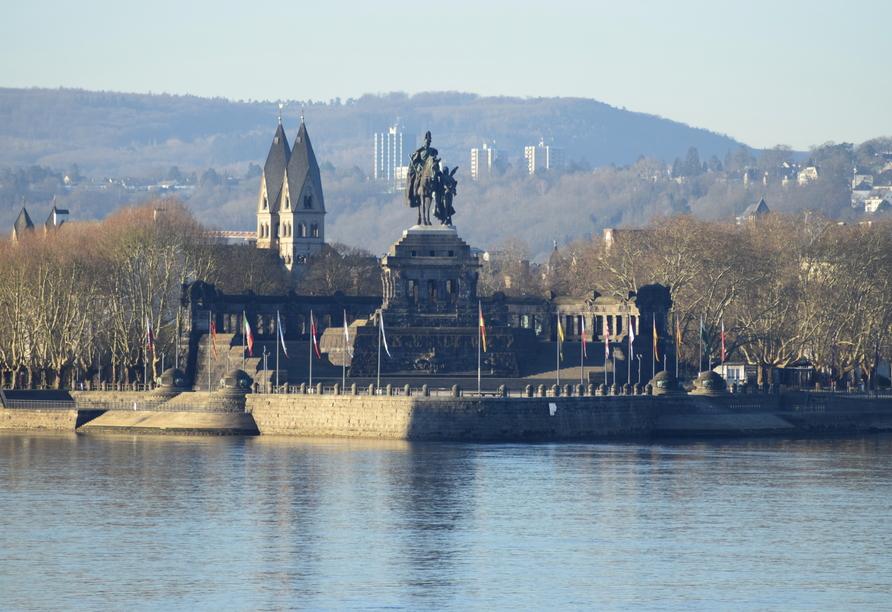 MS Lady Diletta, Deutsches Eck, Koblenz