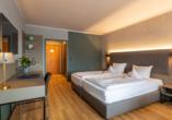 Beispiel eines Doppelzimmers im Michel & Friends Hotel Waldkirchen