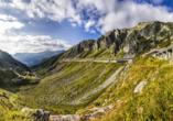 8-tägige Autorundreise Alpenrundfahrt Schweiz  -Italien - Frankreich, Gotthardpass