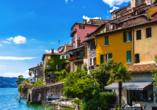 8-tägige Autorundreise Alpenrundfahrt Schweiz  -Italien - Frankreich, Lugano