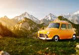 8-tägige Autorundreise Alpenrundfahrt Schweiz  -Italien - Frankreich, Autorundreise