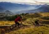 Arena Resort Valaisia, Carns-Montana, Radtour