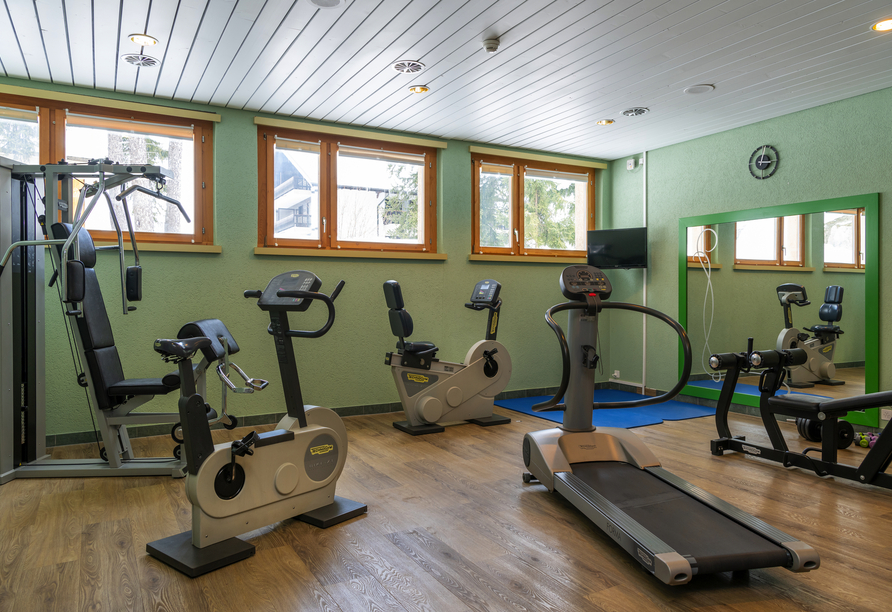 Arena Resort Valaisia, Carns-Montana, Fitnessraum