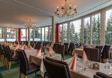 Arena Resort Valaisia, Carns-Montana, Restaurant
