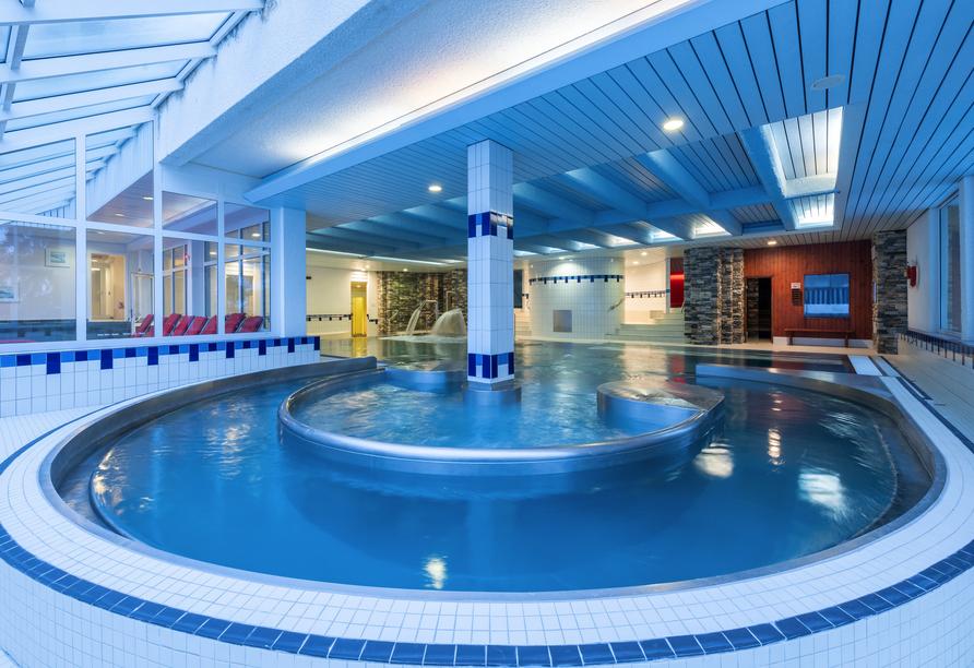 Arena Resort Valaisia, Carns-Montana, Hallenbad