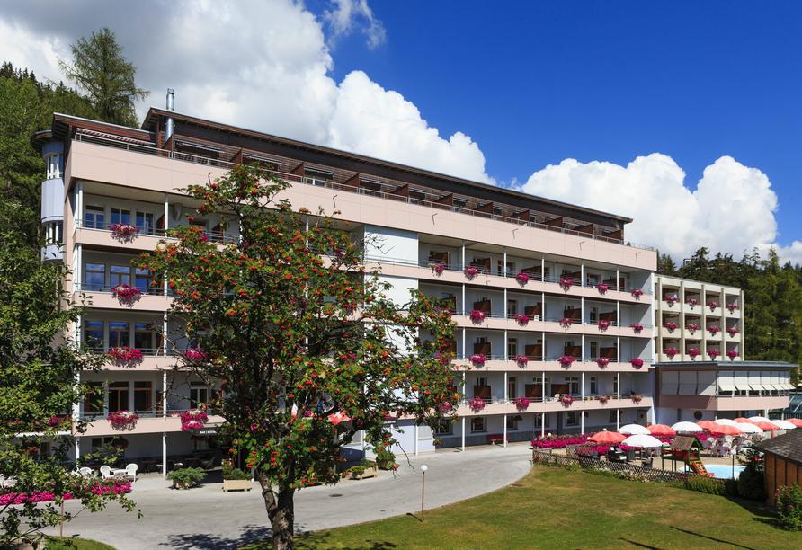 Arena Resort Valaisia, Carns-Montana, Schweiz, Außenansicht