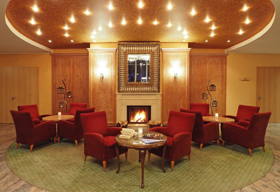 Ostseehotel Villen im Park, Lobby des Hotels