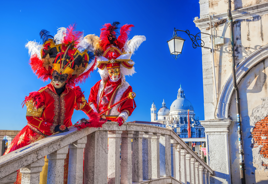 Die Karnevalszeit in Venedig ist etwas ganz Besonderes.
