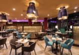 Lassen Sie es sich im Restaurant des Leonardo Royal Hotels Venice Mestre kulinarisch gutgehen.
