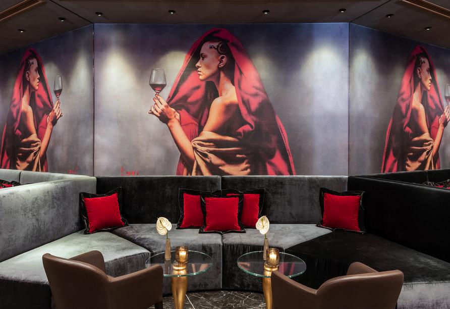 Das Leonardo Royal Hotel Venice Mestre ist edel eingerichtet.
