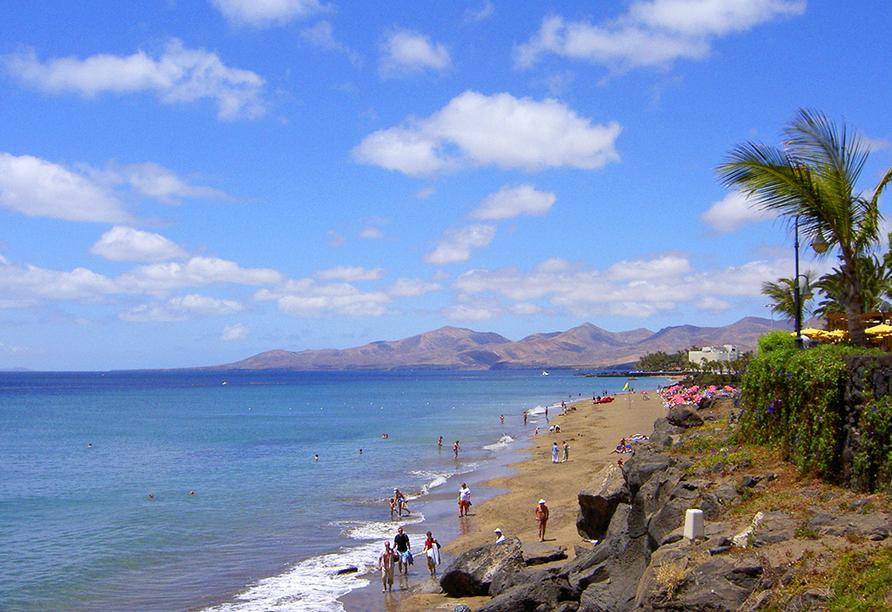 Der Playa Grande ist einer der größten und schönsten Strände der Insel und nur ein paar hundert Meter von Ihrem Hotel entfernt.