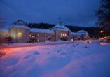 Hotel König Albert in Bad Elster, Außenansicht Hotel