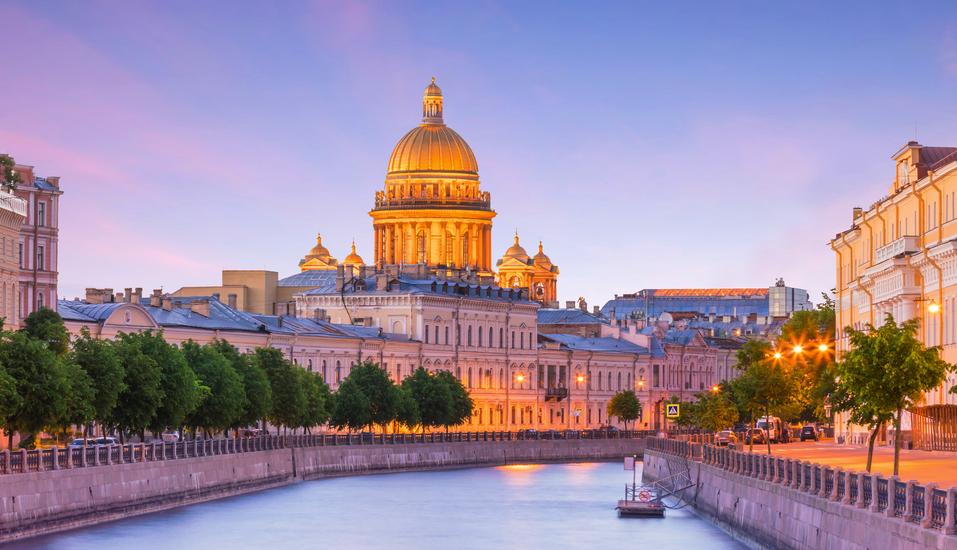 MS Wolga Star, Isaakskathedrale in St. Petersburg