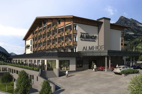 Hotel Almhof, Außenansicht