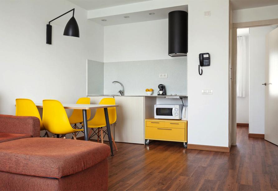 Beispiel eines Appartements im Hotel BLUESEA Lanzarote Palm