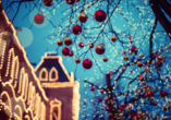 MS VIVA INSPIRE ab/an Frankfurt, Weihnachtskugeln