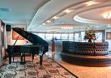 MS VIVA INSPIRE ab/an Frankfurt, Lounge Bar