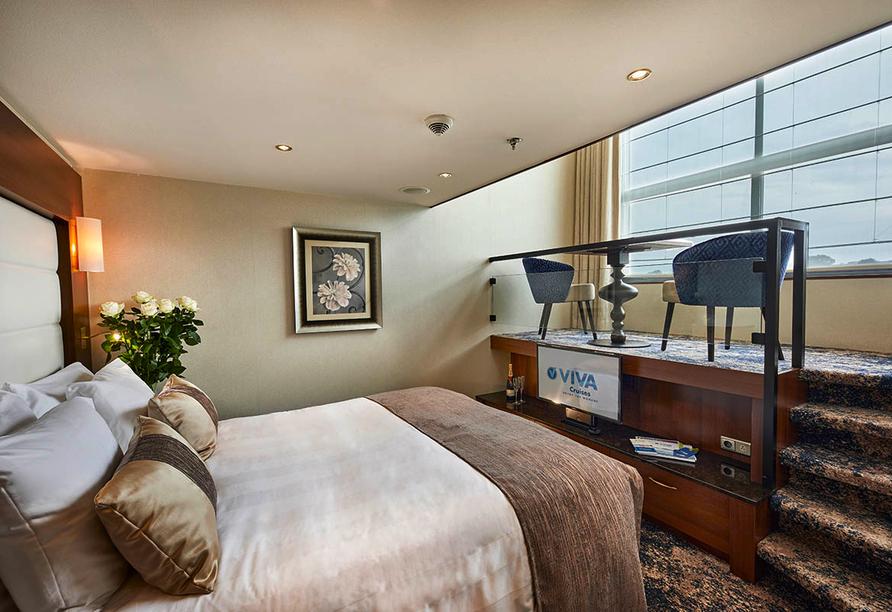 MS VIVA INSPIRE ab/an Frankfurt, Suite Smaragddeck
