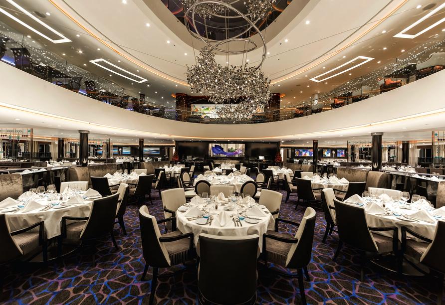 Mein Schiff 3, Restaurant
