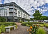 Parkhotel Rügen in Bergen, Außenansicht