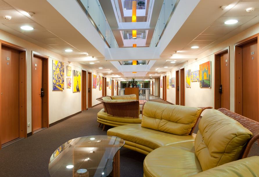 Freuen Sie sich auf einen angenehmen Aufenthalt im Beispielhotel Art Inn Hotel.