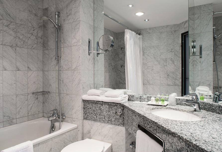 Hotel NH Schwerin, Beispiel eines Badezimmers