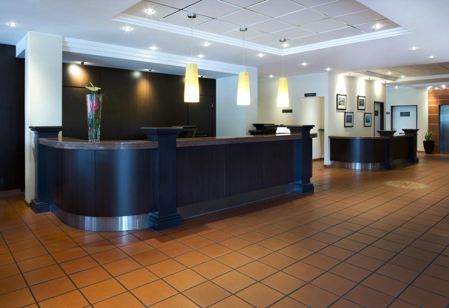 Hotel NH Schwerin, Rezeption