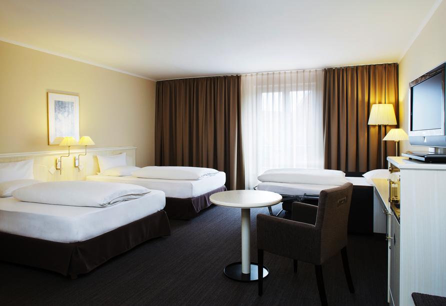 Hotel NH Schwerin, Beispiel Familienzimmer