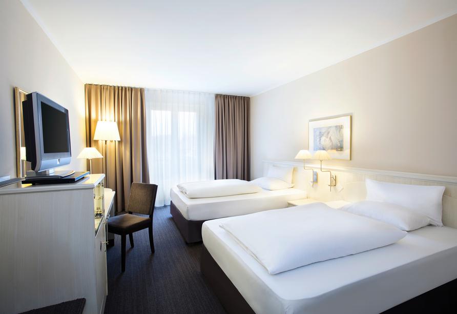Hotel NH Schwerin, Beispiel Doppelzimmer Standard