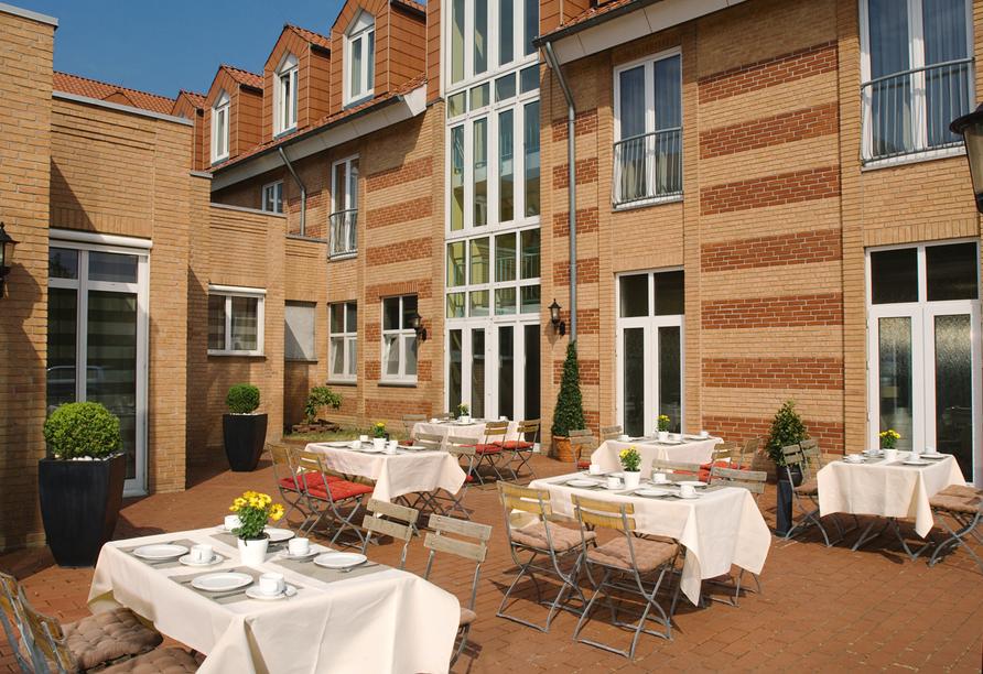 Hotel NH Schwerin, Terrasse