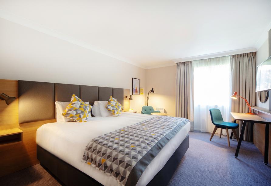 Beispiel eines Doppelzimmers im Holiday Inn Reading South