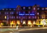 Außenansicht des Durley Dean Hotels