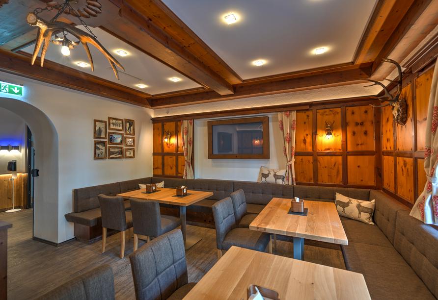 Der Siegeler in Mayrhofen im Zillertal, Restaurant