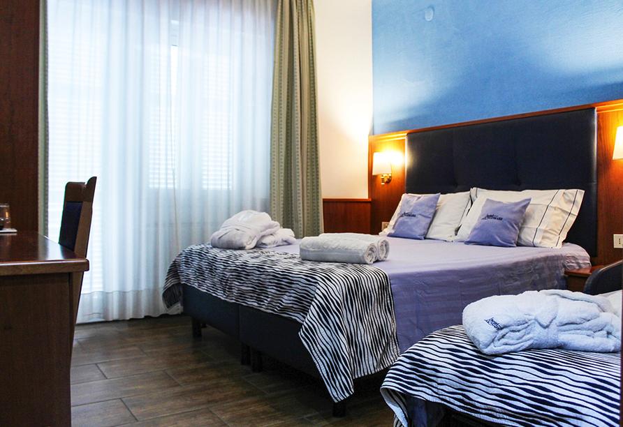 Hotel Lungomare in Marina d'Andora, Beispiel Doppelzimmer