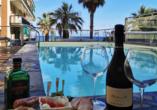 Hotel Lungomare in Marina d'Andora, Außenpool