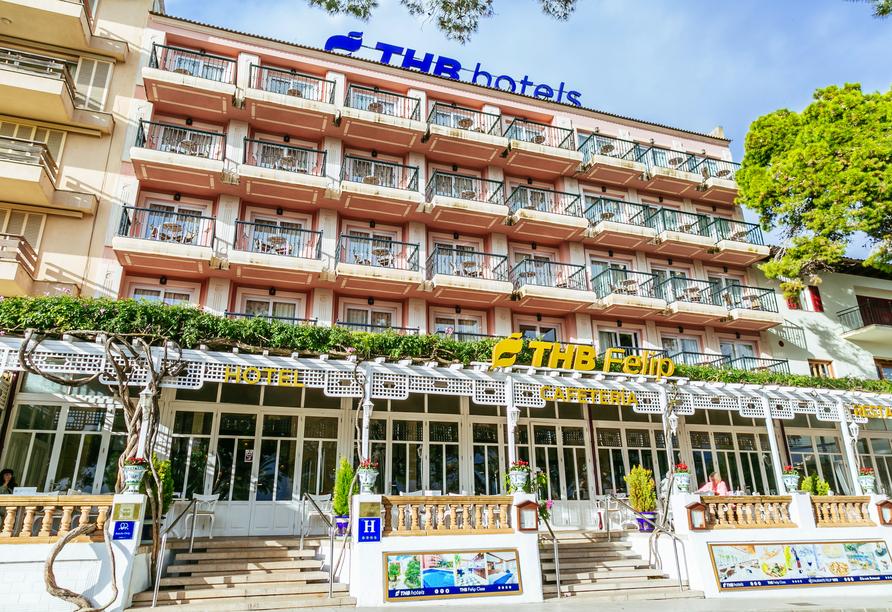 Herzlich willkommen im Hotel THB Felip Class!