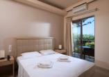 Oasis Beach Hotel in Anissaras, Beispiel Doppelzimmer