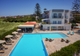 Oasis Beach Hotel in Anissaras, Pool