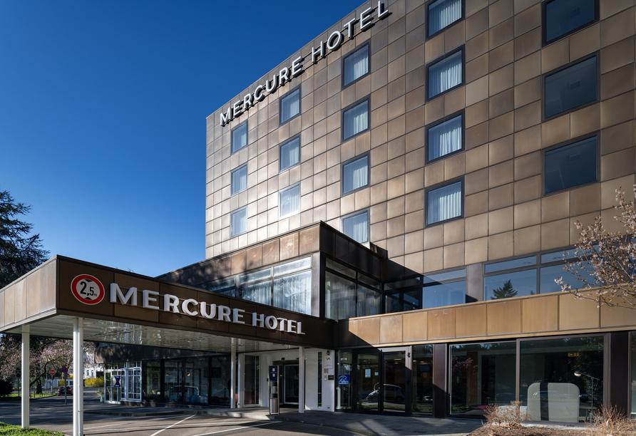 Mercure Parkhotel Mönchengladbach, Außenansicht