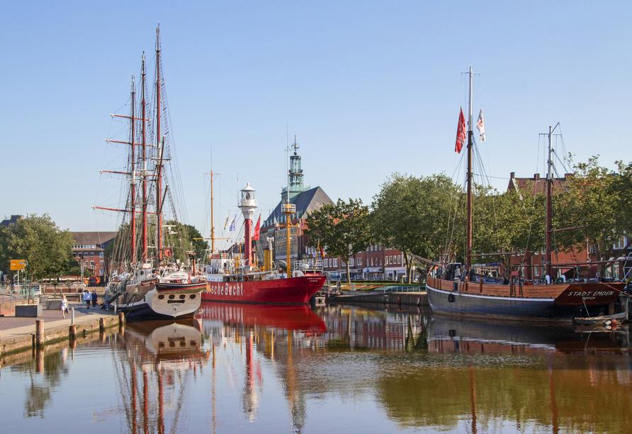 MS Rhein Prinzessin, Emden
