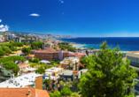 Eindrucksvoller Panoramablick auf Sanremo