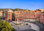 Nizza wird Sie mit einem reichen architektonischen Erbe begeistern.