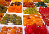 In der Confiserie Florian in Nizza dürfen Sie köstliche Süßwarenprodukte verkosten.
