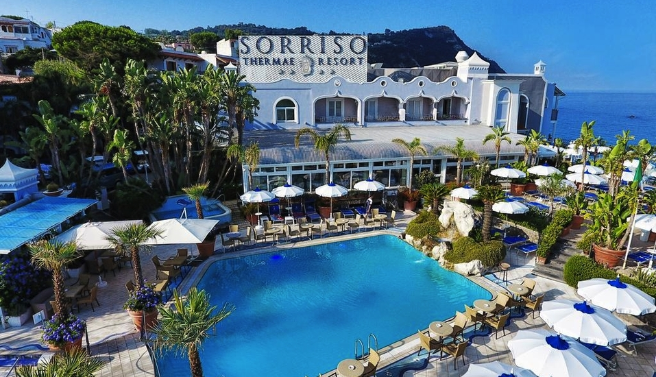 Hotel Sorriso Thermae Resort, Außenansicht
