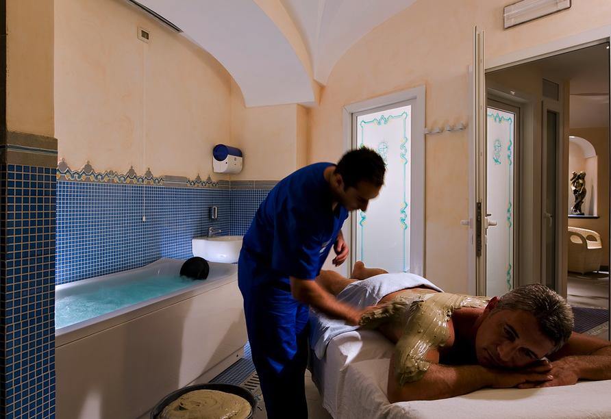 Hotel Sorriso Thermae Resort, Fangopackung