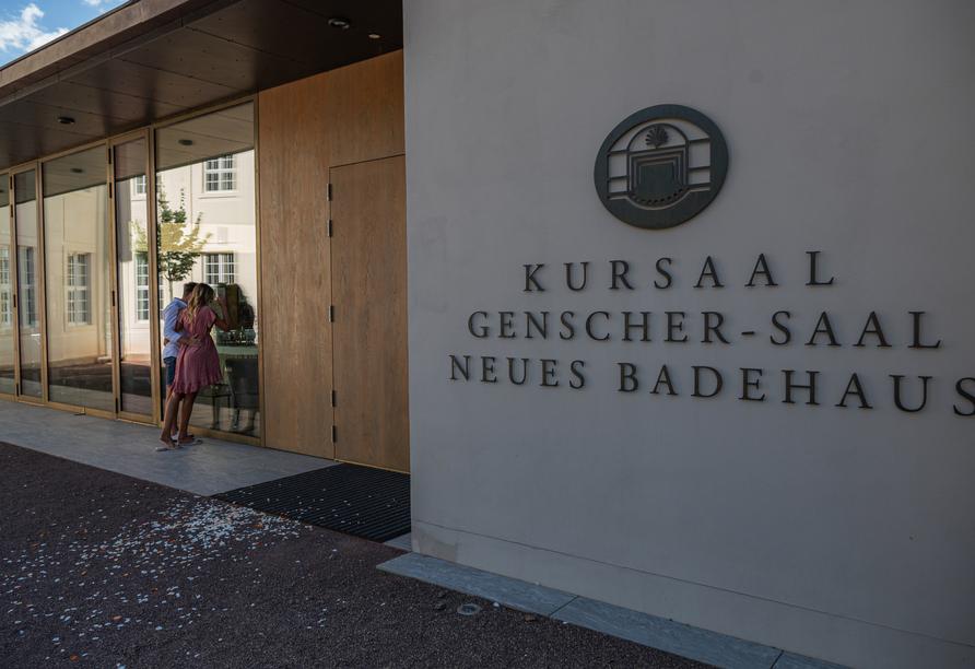 Hotel Lindenhof in Bad Lauchstädt, Kursaal in Bad Lauchstädt
